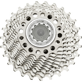 Shimano Ultegra CS-6600 Cassette 10-speed 16-27 teeth silver